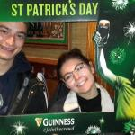 Paddys day couple