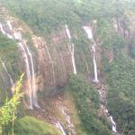 The seven sisters falls Cherrapunjee
