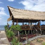 Beautiful location right on the beach. It's hard to find but worth the effort.  Dede the owner w