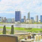 Riverview Suite - patio view