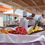Pranzo a buffet in spiaggia