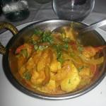 Uno de los platos principales del menú