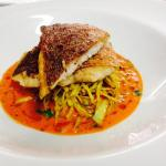 Red Snapper with Cabage