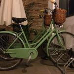 Bicycle parking!