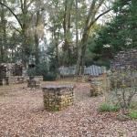 The remains of the Plantation Manager's home.