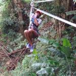 Here I was enjoying my adventure.........
