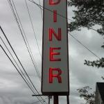 Love the old classic diner neon