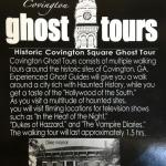 Covington Ghost Tours