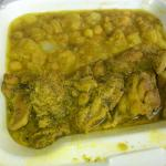 Curry chicken w/ potatoes