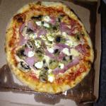 Pizza a emporter tres bonnes!