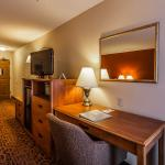 Two Queen Bedroom - all of our rooms are equipped with a microwave, mini refrigerator and single