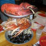 """They accommodated our party with a """"family style feast"""""""