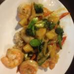 Sak's Thai - pineapple shrimp dish