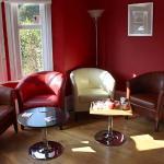 Trendy decor in Lounge!