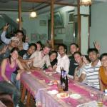Namaste at Mount Annapurna guest house with guest getting together