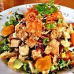 Thai vege chicken salad