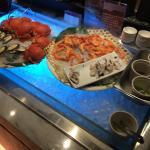 海鮮部分,蝦相當新鮮