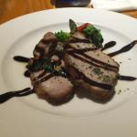 豚肉とバルサミコソース(料理の名前を失念・・)