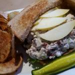 A better look at the Cranberry Chicken Salad Sandwich