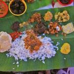 Sadhya meal!