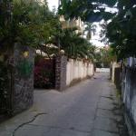 Alley to hotel from Cua Dai main road