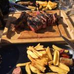 Top côte de bœuf merci à Mélissa et Franco pour le service top