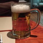 First pint in Belgium