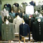 uniformen van de genie, onderdeel van de Kon. Landmacht