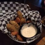 Deep fried pickles. So Yummy!