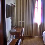 View from the door to standard room