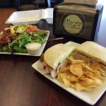 Awesome sandwiches and salads.