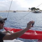 Hagonoy Island in the background