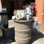 Bring your own garbage bag
