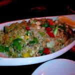Vegeterian rice salad