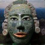 Máscara garra de jaguar, cultura Maya