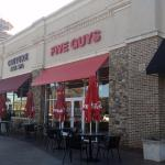 entrance of Five Guys in Newnan