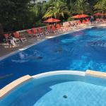 Das Schwimmbad im Sommer 2015