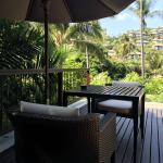 Balcony - Banyan Tree Samui Photo