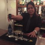 Complimentary sambucca at the end of our lovely evening , thanks for a perfect evening