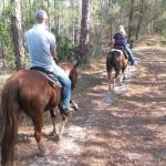 Riding in Little Manatee State Park