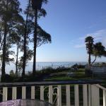 Utsikt från verandan