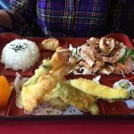 Teriyaki Chicken with Tempura