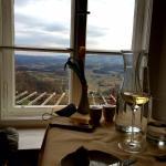 Blick vom Restaurant aus