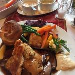 Sunday lunch!! ..... As good as it looks!! :)