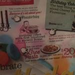 Info about how to enjoy a birthday celebration at Buca