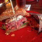 Blue Burger Medium Rare (YUM)