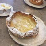 Dutch puff pancake.... Delicious!