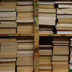 The used book section down stairs