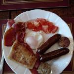 Irish Breakfast at the Abbey House