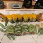 Fruit & sushi perfect together!